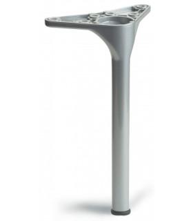 Pied de meuble série 202 par Mafos rond avec vérin