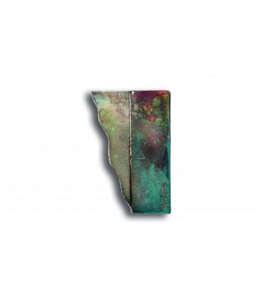 Poignée Raku Riflessato GAUCHE avec reliefs