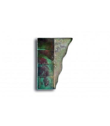 Poignée Raku Riflessato DROITE avec reliefs