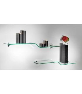 Etag re en verre rayonnage igs d co - Petite etagere design ...