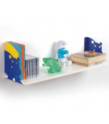 Consoles d'étagère Ippo bleu