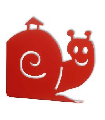 Consoles d'étagère Molly rouge