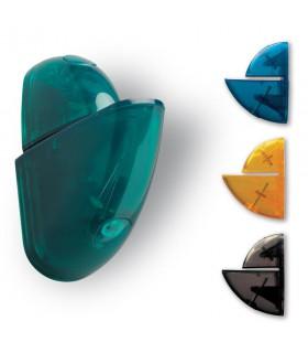 Support d'étagère Gondola transparent par Bolis