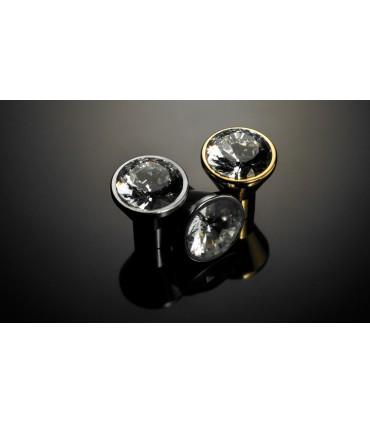 Poignée bouton rond diamant