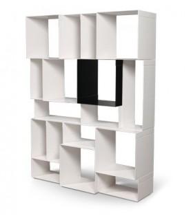 Etagère modulaire design minimaliste Motusmentis Kubica