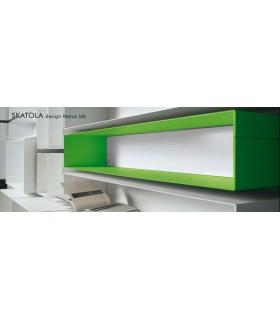 Module Skatola vert et blanc
