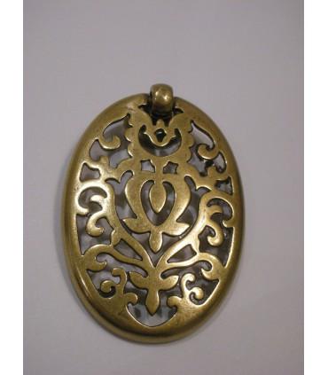 Poignée bouton Alhambra doré