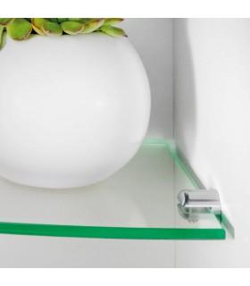 Support d'étagère en laiton série Petio laiton par Bolis Italia