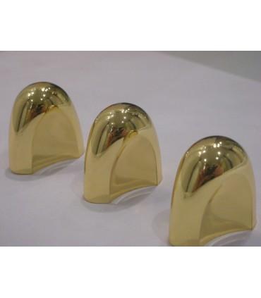 Poignée bouton bonnet doré brillant
