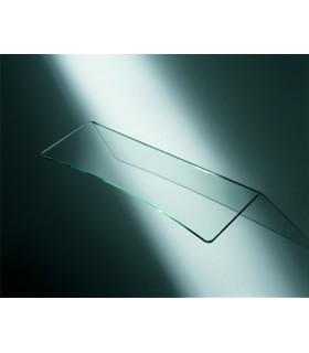 Tablette en verre avec découpe concave série MS01561 par Confalonieri