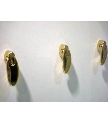 Poignée bouton articulé doré