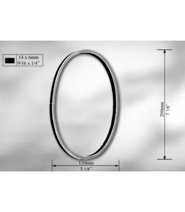Elément décoratif cercles et ovales