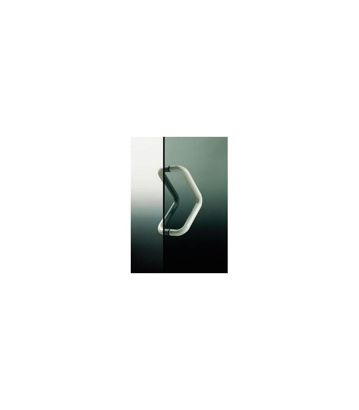 Poignée monobloc Ø 30 mm série V blanc 9010