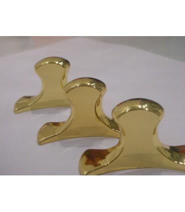 Poignée bouton boomerang
