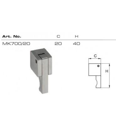 Poignée bouton MK7000