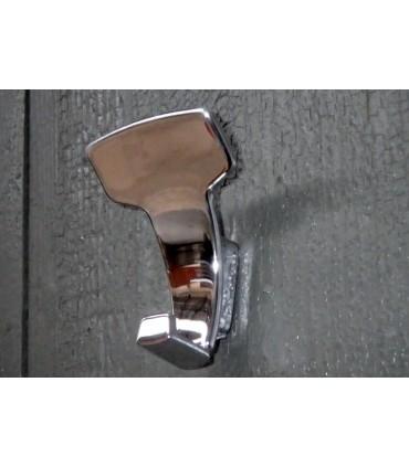 Patère design LID0157 chromé brillant