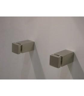 Patère design inox 316 Mimetic série carrée