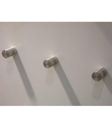 Poignée bouton série Double Stripe