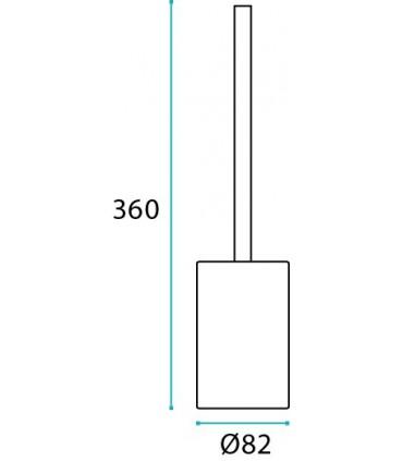 Porte balayette série Pangulo