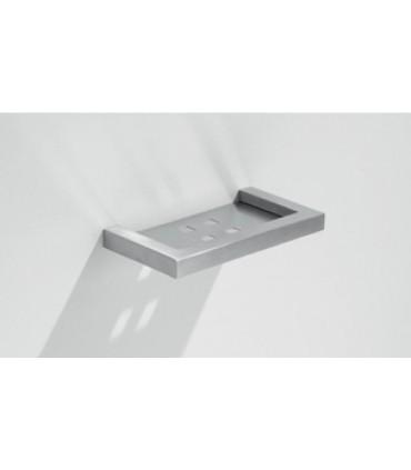 Etagère porte savon Quadro lg.150 mm