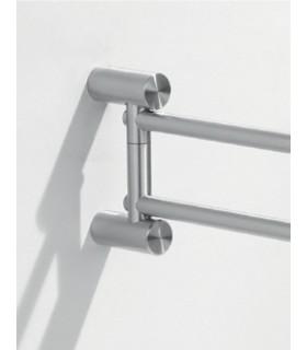 Porte serviette rotatif en inox s rie fine - Porte serviette inox brosse ...