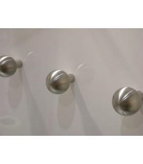 Poignée bouton boule en inox