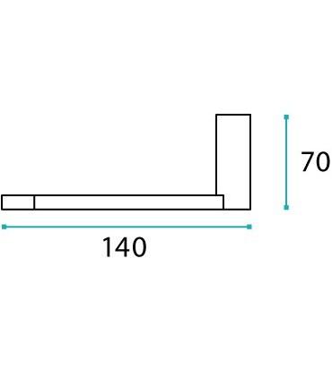 Porte rouleau série Méridian technique