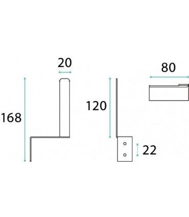 Porte rouleau série 2D