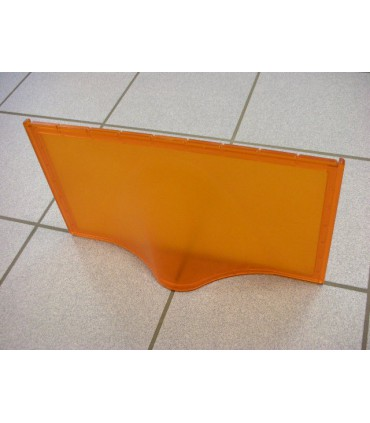 Etagère design Pélican orange