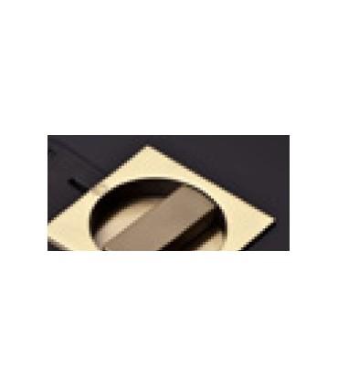 Serrure pour porte coulissante bois avec rosaces conda/déconda. carrées