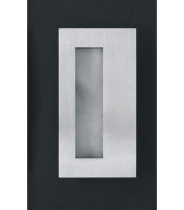 Poignée cuvette série Open Closed ouverte 135 x 70 mm