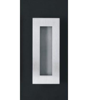 Poignée cuvette série Open Closed ouverte 135 x 55 mm