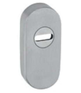 Rosace de protection simple extérieur forme ovale inox aisi 316