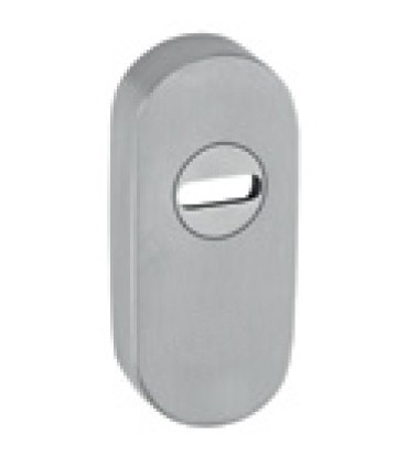 Rosace de protection ovale inox aisi 316