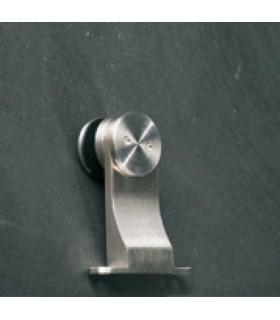Support de fixation en inox pour volume en verre
