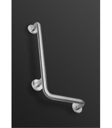 Barre d'appui 90° sur mur Ø 35 mm 300 X 600 mm