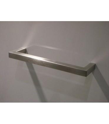 Poignée de meuble forme Angulaire inox barre Carrée