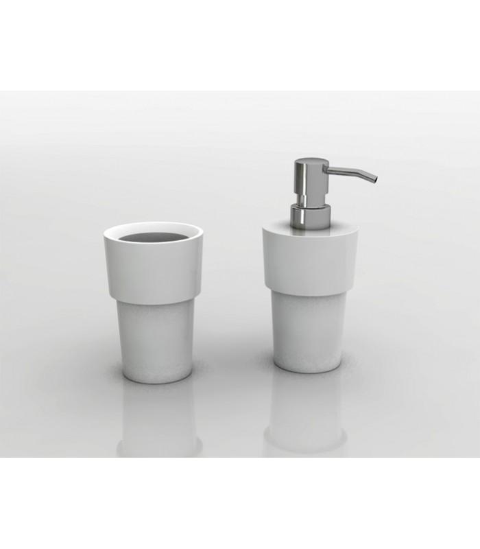 Distributeur de savon liquide à poser série Button