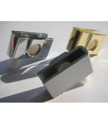 Penture pour porte en verre d'épaisseur maxi 6 mm