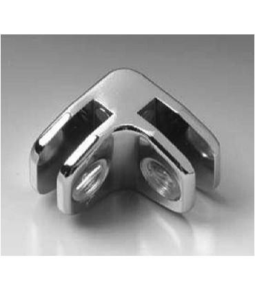 Connecteur verre / verre à 90°