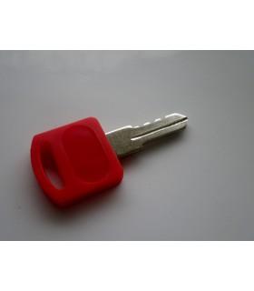 Clé pour le changement du cylindre sur serrures batteuses à cylindre amovible