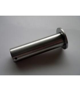 Fixation haute ou basse droite en inox pour câble Ø 2.5 à 3 mm