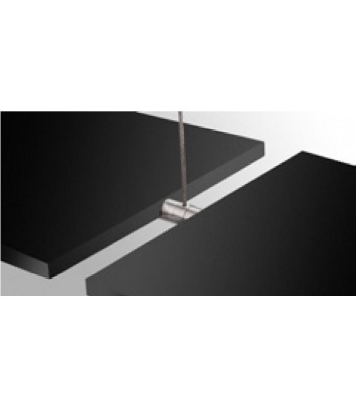 support double pivotant en inox pour tag re en bois igs. Black Bedroom Furniture Sets. Home Design Ideas
