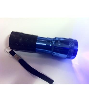 Lampe torche 14 leds pour collage UV