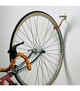 Crochet porte vélo rabattable