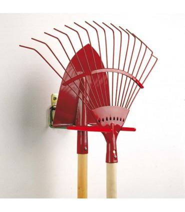 Crochet porte outils rabattable