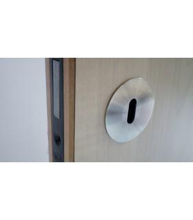 Rosace épaisseur 1 mm pour entrée de clé à encastrée