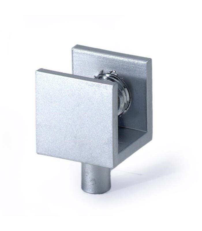 Pince pivot pour porte de vitrine en verre mati re laiton - Pivot de porte ...
