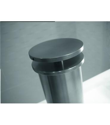 Entretoise de comptoir en inox brossé Ø 33/40 mm