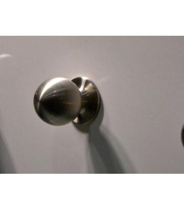 Poignée bouton en métal série Sphère